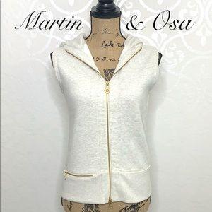 MARTIN & OSA SLEEVELESS HOODIE